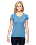 T050 Champion Ladies' Vapor® Cotton Short-Sleeve V-Neck T-Shirt