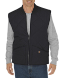TE242T Dickies Unisex Tall Diamond Quilted Nylon Vest
