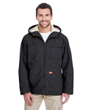 TJ350 Dickies 8.5 oz. Sanded Duck Sherpa Lined Hooded Jacket