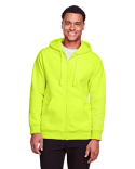 TT95 Team 365 Men's Zone HydroSport™ Heavyweight Full-Zip Hooded Sweatshirt