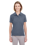 UC100W UltraClub Ladies' Heathered Piqué Polo