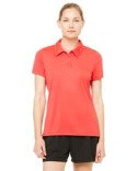 W1809 All Sport Ladies' Performance Three-Button Polo