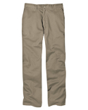 WP314 Dickies 8 oz.  Relaxed Fit Cotton Flat Front Pant