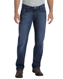 XD740 Dickies Men's X-Series Relaxed Fit Straight-Leg 5-Pocket Denim Jean Pant