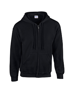 G186 Gildan Adult Heavy Blend™ Adult 8 oz., 50/50 Full-Zip Hood